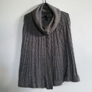 Button up poncho